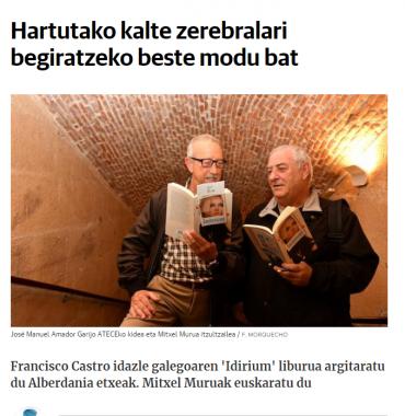 Francisco Castroren 'Iridium' eta kalte zerebralak El Diario Vascon