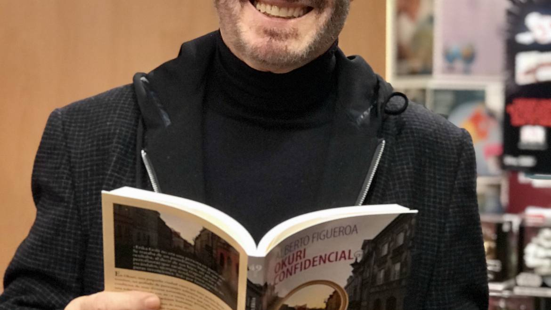 Presentación del libro OKURI CONFIDENCIAL de Alberto Figueroa