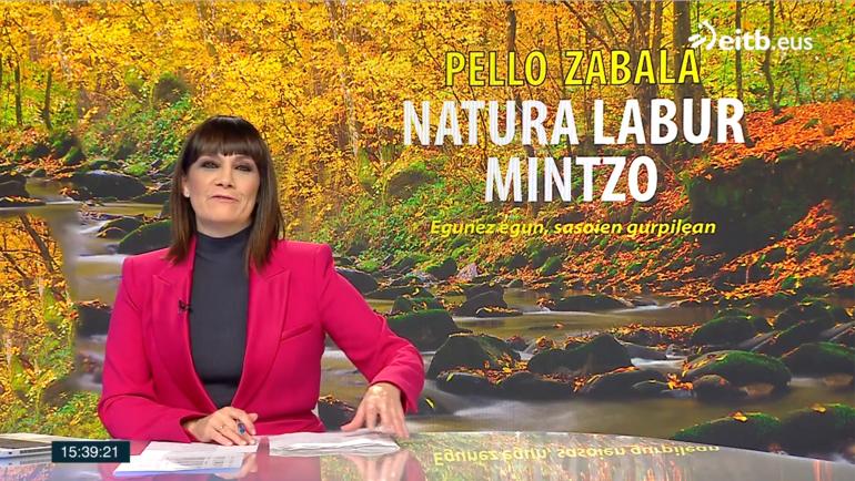 """""""Natura labur mintzo"""" de Pello Zabala, una edición reducida de los refranes y proverbios."""